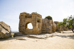 Arcosoli Bizantini, Agrigento, Sicily - Obrazy Royalty Free