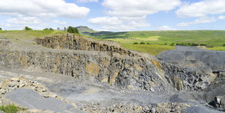 Arcow Quarry, Horton in Ribblesdale, Yorkshire. Stock Image