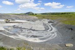 Arcow Quarry, Horton in Ribblesdale, Yorkshire. Royalty Free Stock Images