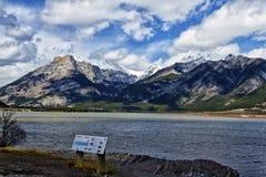 Arcs Alberta de DES de laque Image libre de droits