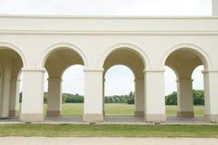 Arcs on castle Pohansko, Lednice/Valtice region, Czech republic Royalty Free Stock Images