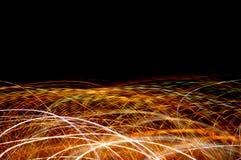 arcs de lumière Photographie stock