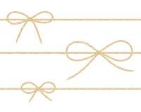 Arcs de toile de ficelle illustration de vecteur