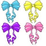 Arcs multicolores Images stock