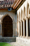 Arcs on St Hilaire abbey in Aude Stock Images