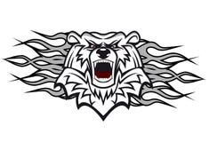 Arctic bear vector illustration