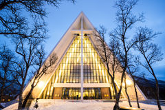 Arctic Cathedral Norway Stock Photos
