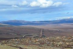 Arctic Circle of Alaska Finger Mountain 4 Stock Image