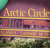 Arctic Circle Royalty Free Stock Image