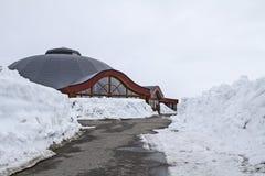 Arctic Circle Center Stock Images