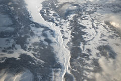 Arctic Circle - Frozen Lands and Rivers royalty free stock photography