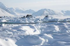 Arctic climate Stock Photography