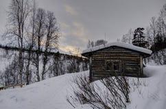 Arctic cottage Stock Image
