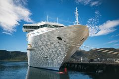 Arctic Cruise Ship Royalty Free Stock Images