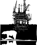 Arctic Drilling Stock Images