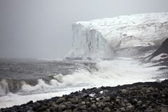 Arctic glacier Stock Photos