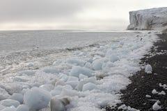 Arctic glacier Royalty Free Stock Photography