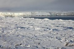 Arctic glacier Royalty Free Stock Photography