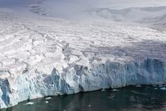 Arctic glacier Stock Images