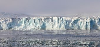 Arctic glacier Royalty Free Stock Images