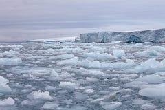 Arctic glacier Stock Photography
