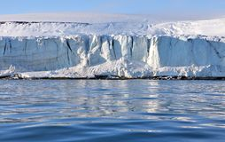 Arctic glacier Royalty Free Stock Photos