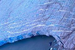 Arctic glacier. Ice and cold. area Novaya Zemlya Royalty Free Stock Photos