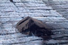 Arctic glacier. Ice and cold. area Novaya Zemlya Stock Image