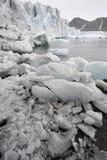 Arctic glaciers melting - Spitsbergen Stock Image