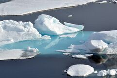 Arctic Ice Stock Photo