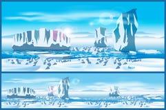 Arctic ice Stock Photography