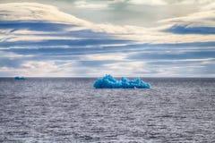 Arctic iceberg ice stock area Novaya Zemlya. Royalty Free Stock Photo