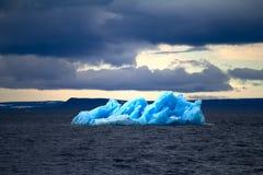 Arctic iceberg ice stock area Novaya Zemlya. Royalty Free Stock Photos