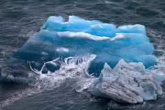Arctic iceberg. ice stock. area Novaya Zemlya Stock Photos