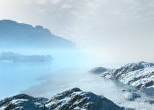 arctic krajobraz Fotografia Stock