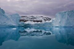 arctic krajobraz Zdjęcia Stock