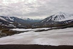arctic krajobraz Fotografia Royalty Free
