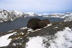 Arctic Lake Royalty Free Stock Photos
