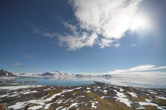 Arctic landscape Stock Photos