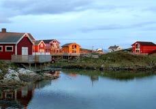 Arctic landscape 3 stock images