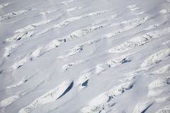 Arctic landscape - glacier Royalty Free Stock Photography