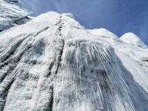 Arctic landscape - glaciers - Spitsbergen Royalty Free Stock Photos