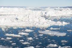 Arctic landscape in Greenland Stock Photo