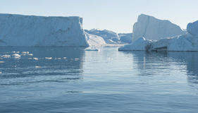 Arctic landscape in Greenland Stock Photo