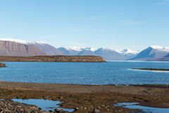 Arctic landscape in Greenland Royalty Free Stock Photography