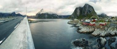 Arctic landscape- Hamnoy, Lofoten Islands III Stock Photography