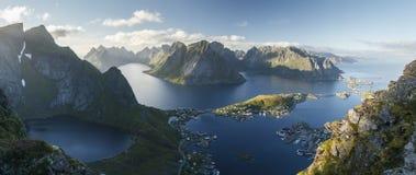 Arctic landscape: Reine, Lofoten Islands Royalty Free Stock Image