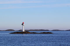 Arctic Lighthouse royalty free stock photos