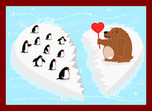 Arctic love Stock Photo