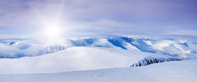 Arctic Mountains Stock Images